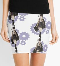 Saint-Germain - Code: Realize Minimalist Art Mini Skirt