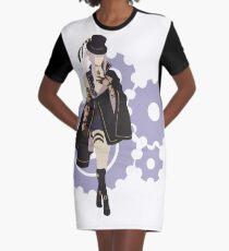 Saint-Germain - Code: Realize Minimalist Art Graphic T-Shirt Dress