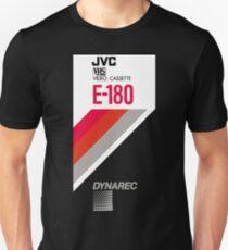 Retro VHS tape vaporwave aesthetic Slim Fit T-Shirt