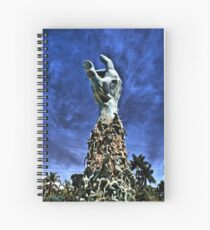 The Heavens Cried Out in Pain Spiral Notebook