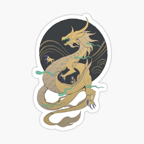 The artist's beast Sticker