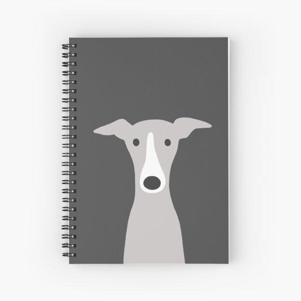 Greyhound | Italian Greyhound | Cute Whippet Dog  Spiral Notebook