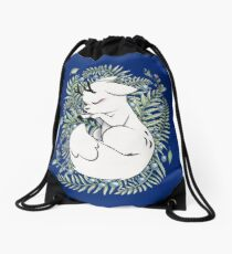 Deer Fox Drawstring Bag