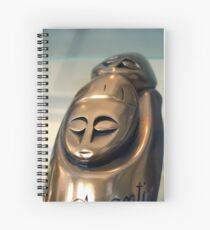 Statuette Spiral Notebook