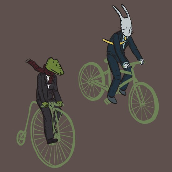 TShirtGifter presents: Cycling Rabite and Croco