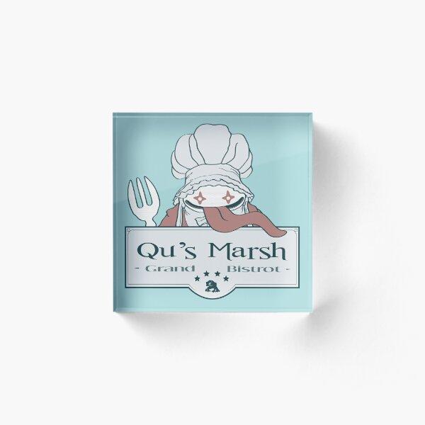 Qu's Marsh Grand Bistrot / Final Fantasy IX Bloque acrílico