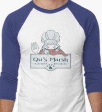 Qu's Marsh Grand Bistrot / Final Fantasy IX Men's Baseball ¾ T-Shirt