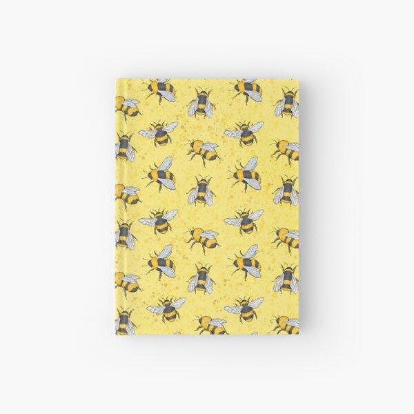 Ich habe jede einzelne Biene als eigenes Aufkleberdesign gemacht Notizbuch