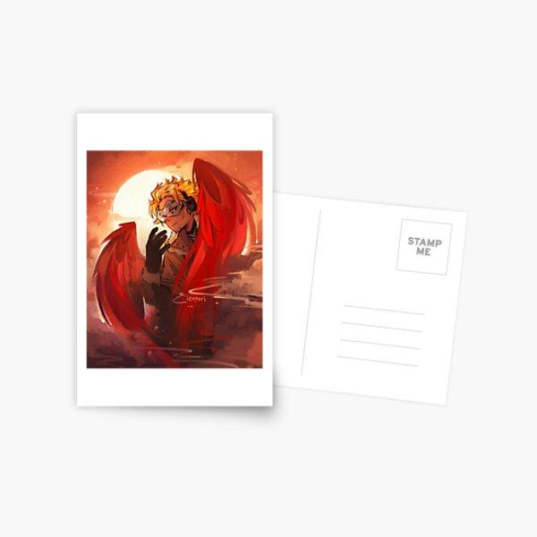 Faucons Carte postale