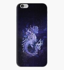 Cosmic Elemental Smoke Dragon iPhone Case