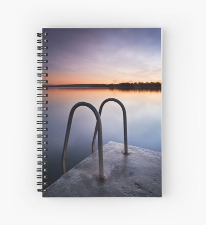 Blue Skies Forever Revisited Spiral Notebook