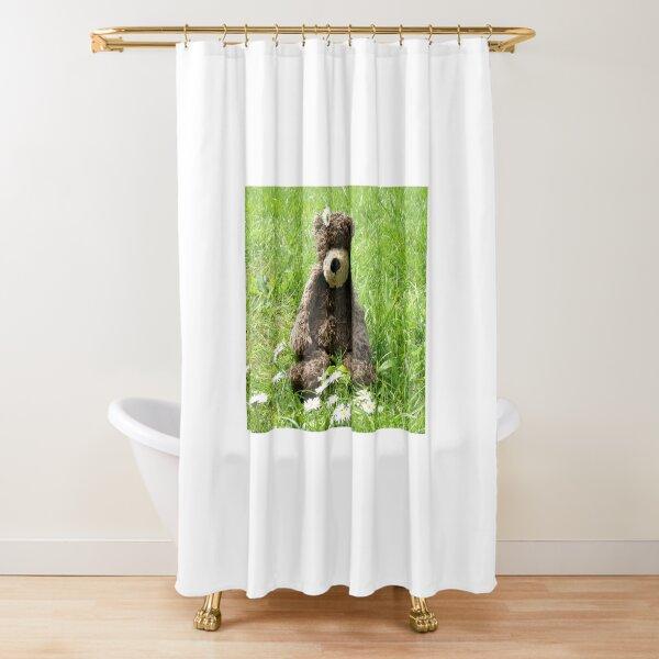 Deano Bears Daisy bear Shower Curtain