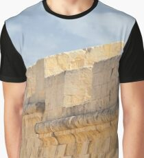 Birgu City Walls Graphic T-Shirt