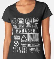 Manager Shirt, Team Leader, Supervisor, IT Manager Women's Premium T-Shirt
