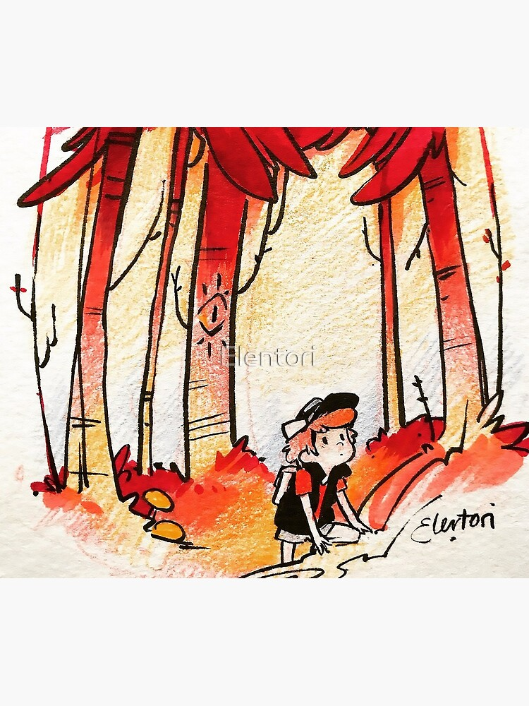 Meet Me in the Woods by Elentori