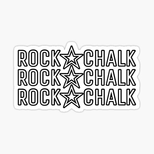 Rock Chalk  Sticker