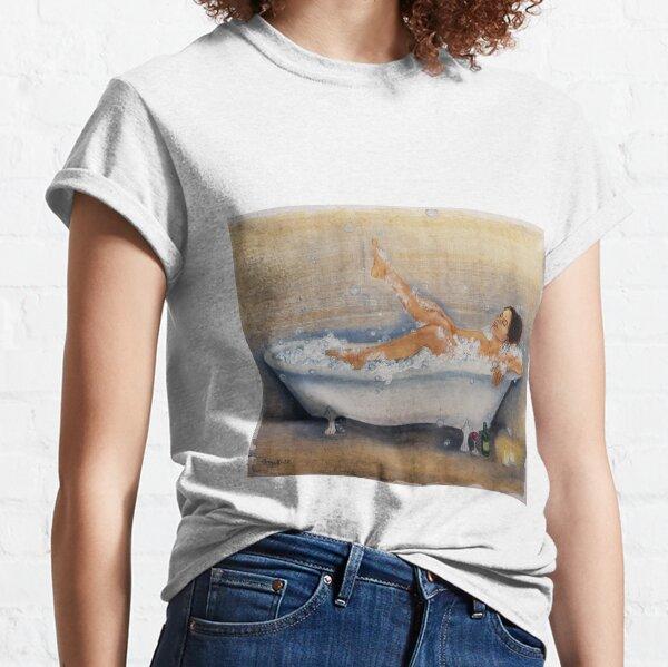 Magic of a hot bath Classic T-Shirt