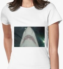 Jaws Jnr. Womens Fitted T-Shirt