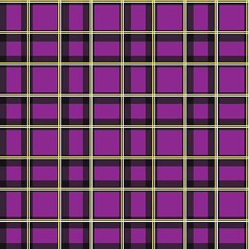 Purple Tartan  by Real-Digital