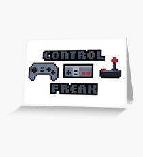 Control Freak! Greeting Card