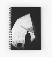0 The Third Man HP Spiral Notebook