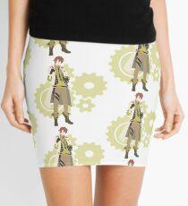 Victor Frankenstein - Code: Realize Minimalist Art Mini Skirt