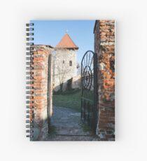 Please close the gate Spiral Notebook