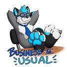 Maxx's business as usual foxx by licographics