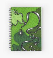 Healing Turmoil Spiral Notebook