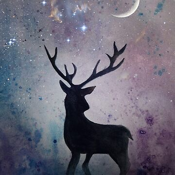Deer by GraphicallyS