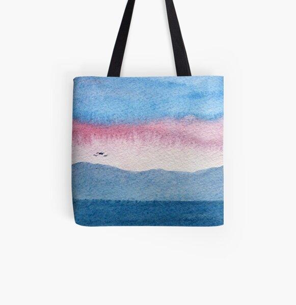 Skye Abstract 1 All Over Print Tote Bag