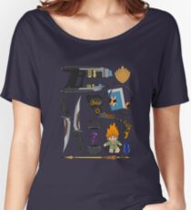 Space Misfits Collage Women's Relaxed Fit T-Shirt