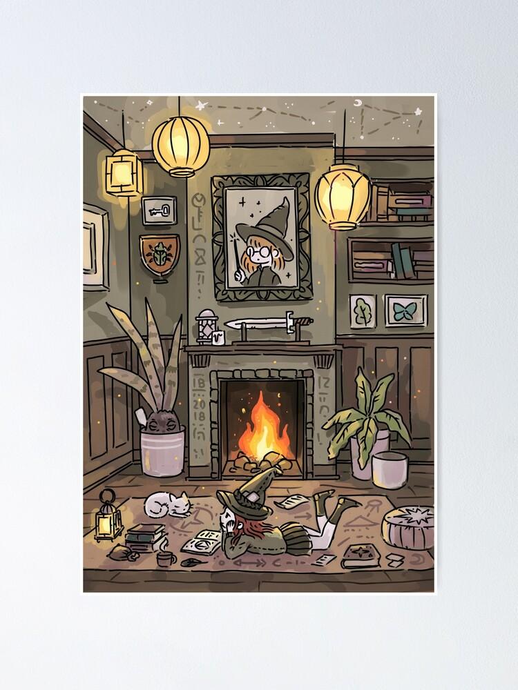 Alternate view of Magic Studies Poster