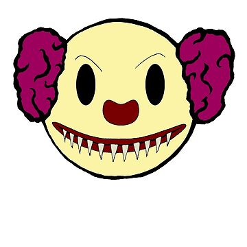 Pennywise the clown smiley by morphfix