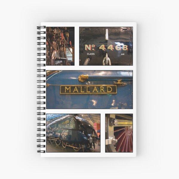 The Mighty Mallard Spiral Notebook