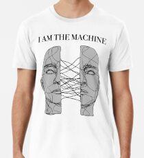 Camiseta premium para hombre yo soy la máquina