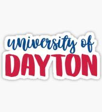 University of Dayton 2 Sticker