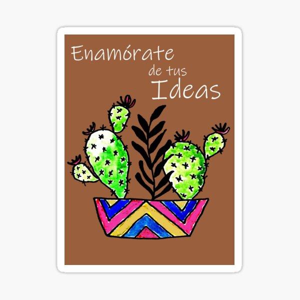 Verliebe dich in deine Ideen Sticker