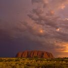 Uluru - After The Rain by Wayne Harris
