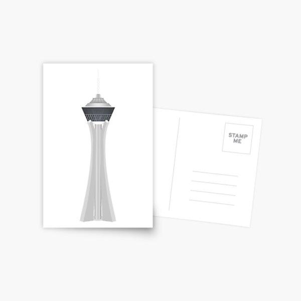 Stratosphere Tower Postcard