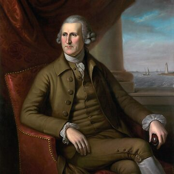 Thomas Willing Portrait - By Charles Willson Peale - 1782 by warishellstore
