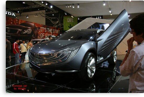 mazda concept car by doug hunwick