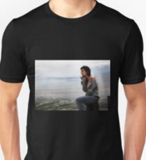 the breeze carries your thoughts... Unisex T-Shirt