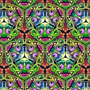 Kaleidoscope Troll by artdyslexia