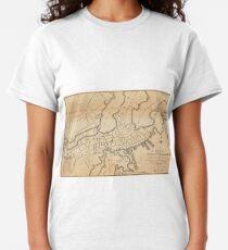 Vintage Map of Salem MA (1820) Classic T-Shirt