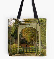 Wooden drawbridge 'The goose'  Tote Bag