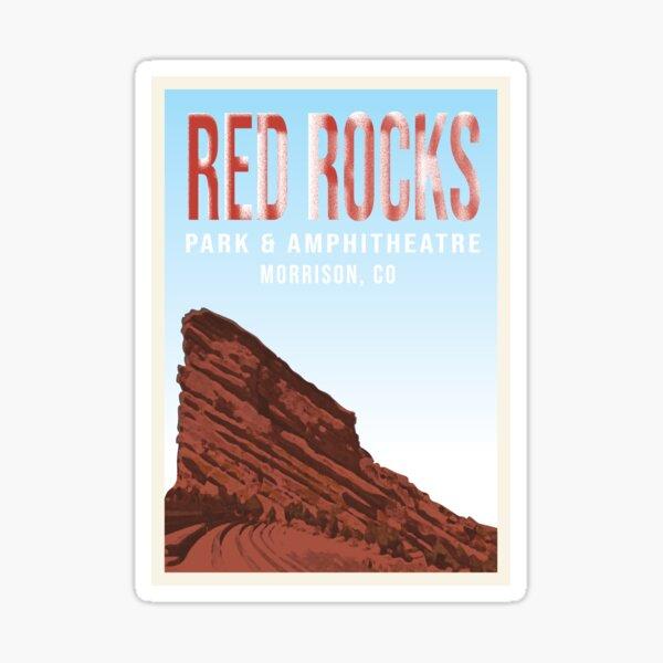 Red Rocks Sticker