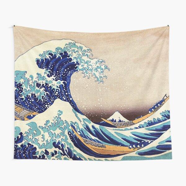 Katsushika Hokusai The Great Wave Off Kanagawa Tapestry