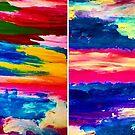 Himmlische Wunder-Himmel und rosa Sonnenuntergang von Love Art Wonders by GOD