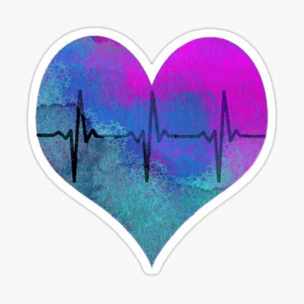 """Heart Beats for """"Monsta X"""" Sticker"""